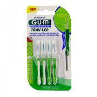 GUM TRAV - LER, 1,1 mm, manche vert , blister 4 à REIMS