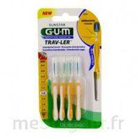 GUM TRAV - LER, 1,3 mm, manche jaune , blister 4 à REIMS