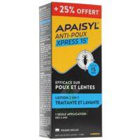Apaisyl anti-poux Xpress 15' 250ml _ 25% offert à REIMS