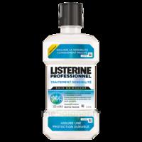 Listerine Professionnel Bain bouche traitement sensibilité 500ml à REIMS