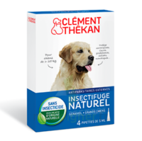 Clément Thékan Spot-on Solution externe grand chien 4 Pipettes/5ml à REIMS