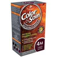 COLOR&SOIN Kit coloration permanente 4M châtain acajou à REIMS